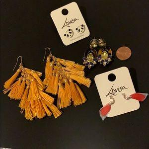 Lovisa earrings bundle never been used!